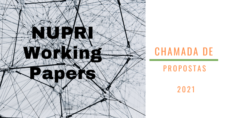 NUPRI Working Papers – chamada de propostas